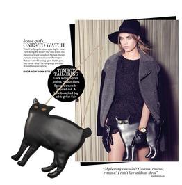 Black Cat Handbag Chain