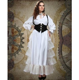 Steampunk Neo Victorian Gothic Mary Frances 3 Pc Ensemble Dress S1023