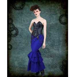Steampunk Neo Victorian Gothic Fitzsimon 2 Pc Ensemble Dress S1039
