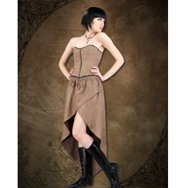 Steampunk Neo Victorian Gothic Alderdice 2 Pc Ensemble Dress S1028