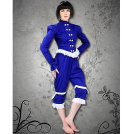 Steampunk Neo Victorian Gothic Detective Annie Burries Blouse Top C1234