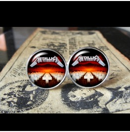Metallica Master Puppets Album Cover Cuff Links Men, Weddings,Grooms, Groomsmen,Gifts,Dads,Graduations