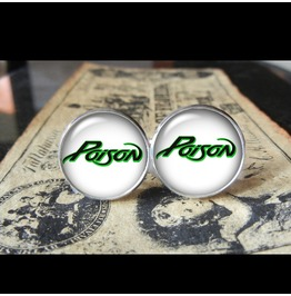 Poison Band Logo Cuff Links Men, Weddings,Grooms, Groomsmen,Gifts,Dads,Graduations