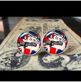 Sex Pistols Anarchy U.K Cuff Links Men, Weddings,Grooms, Groomsmen,Gifts,Dads,Graduations