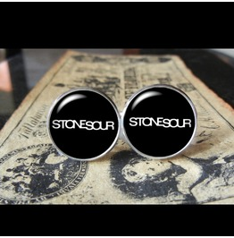 Stone Sour Band Logo #1 Cuff Links Men, Weddings,Grooms, Groomsmen,Gifts,Dads,Graduations