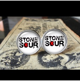 Stone Sour Band Logo #2 Cuff Links Men, Weddings,Grooms, Groomsmen,Gifts,Dads,Graduations