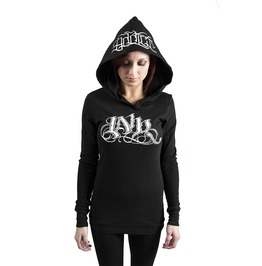 Ink Meas Thermal Hoodie Black/White