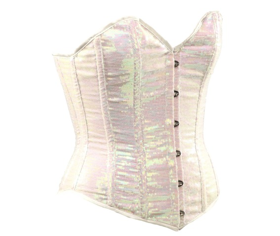 white_sequin_fabric_steel_boning_corset_waist_cincher_bustier_bustiers_and_corsets_3.jpg