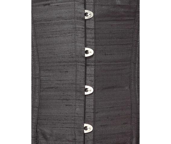 black_silk_steel_boning_corset_waist_cincher_bustier_bustiers_and_corsets_2.jpg