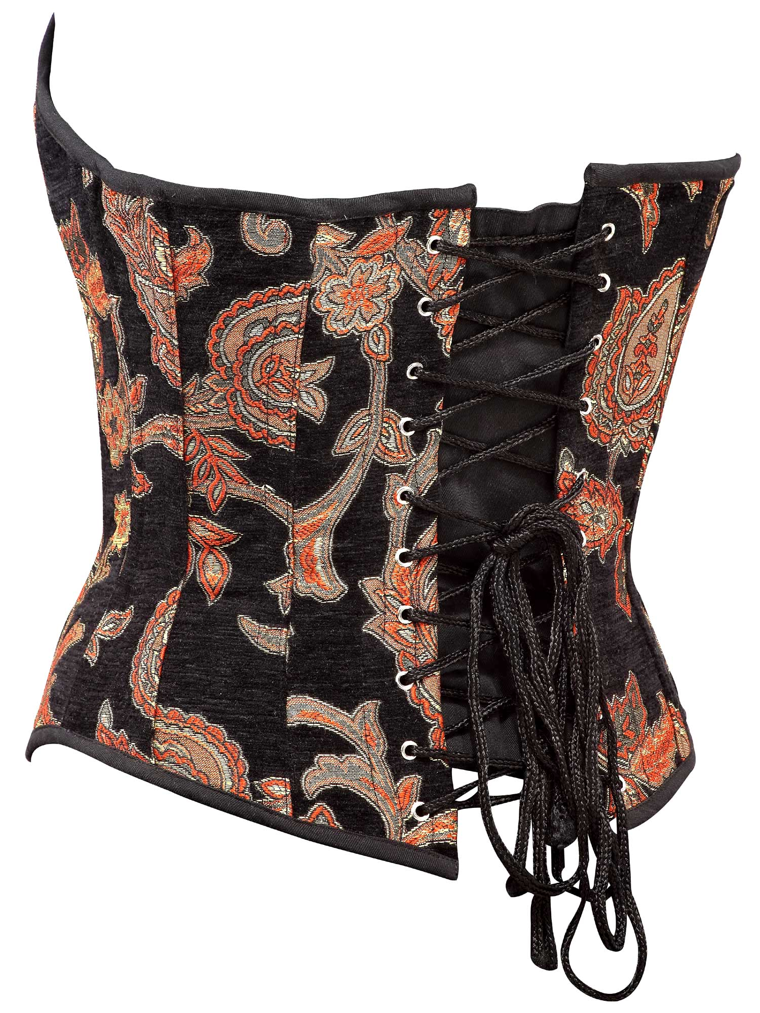 black_floral_tapestry_fabric_steel_boning_corset_waist_cincher_bustier_bustiers_and_corsets_3.jpg