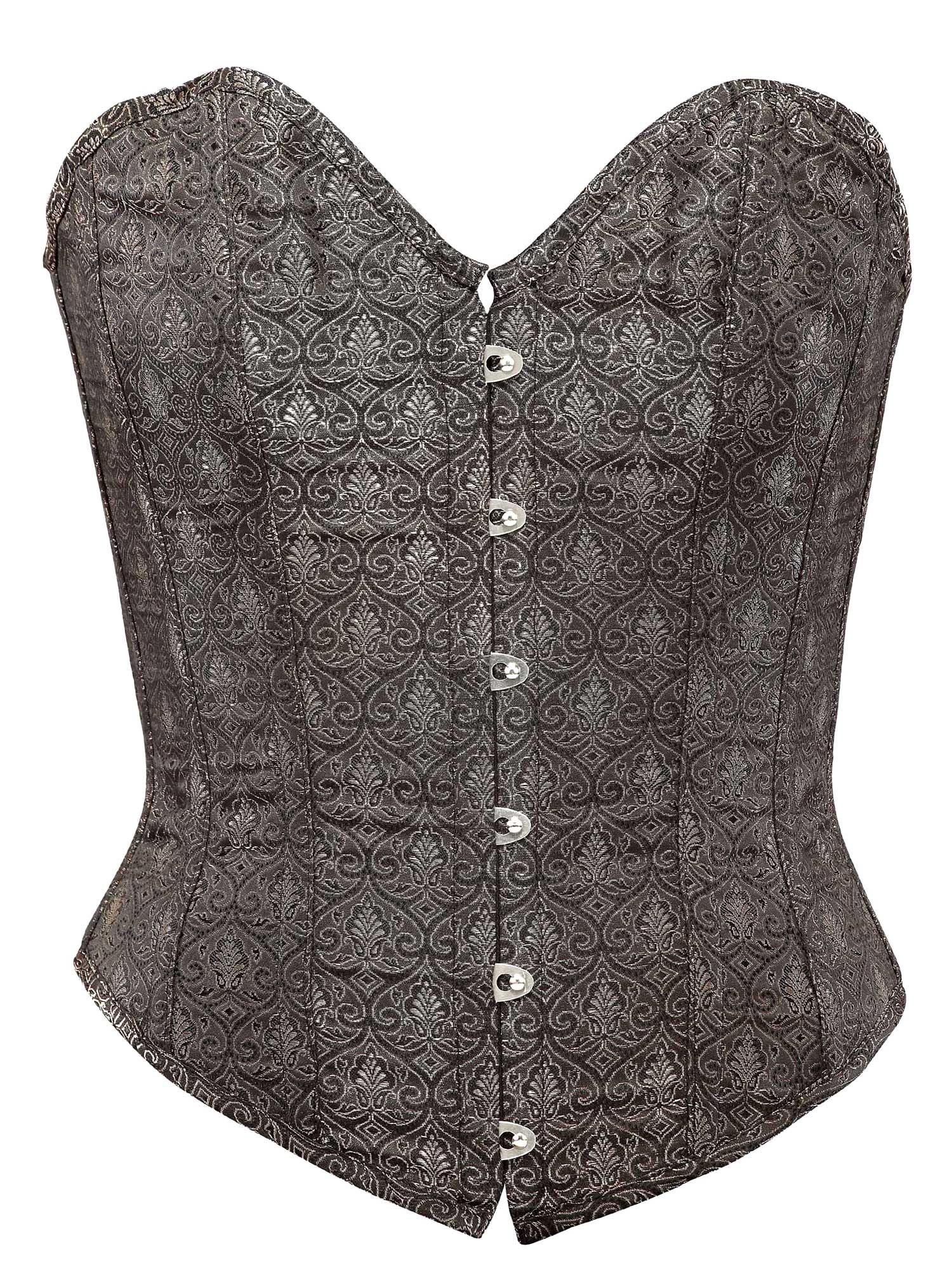 brown_brocade_fabric_steel_boning_corset_waist_cincher_bustier_bustiers_and_corsets_5.jpg