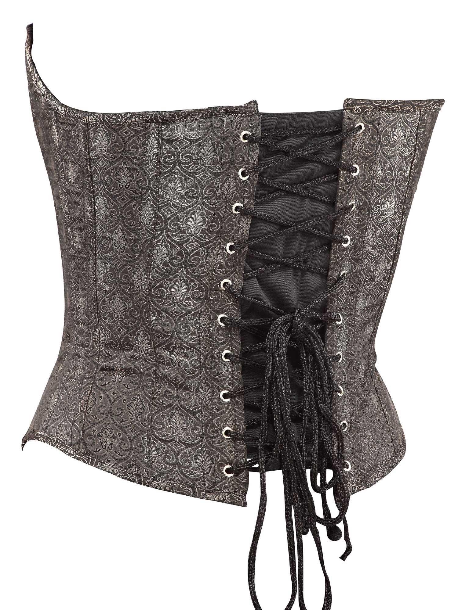 brown_brocade_fabric_steel_boning_corset_waist_cincher_bustier_bustiers_and_corsets_3.jpg