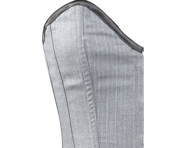 grey_striped_corporate_steel_boning_overbust_corset_waist_cincher_bustier_bustiers_and_corsets_2.jpg