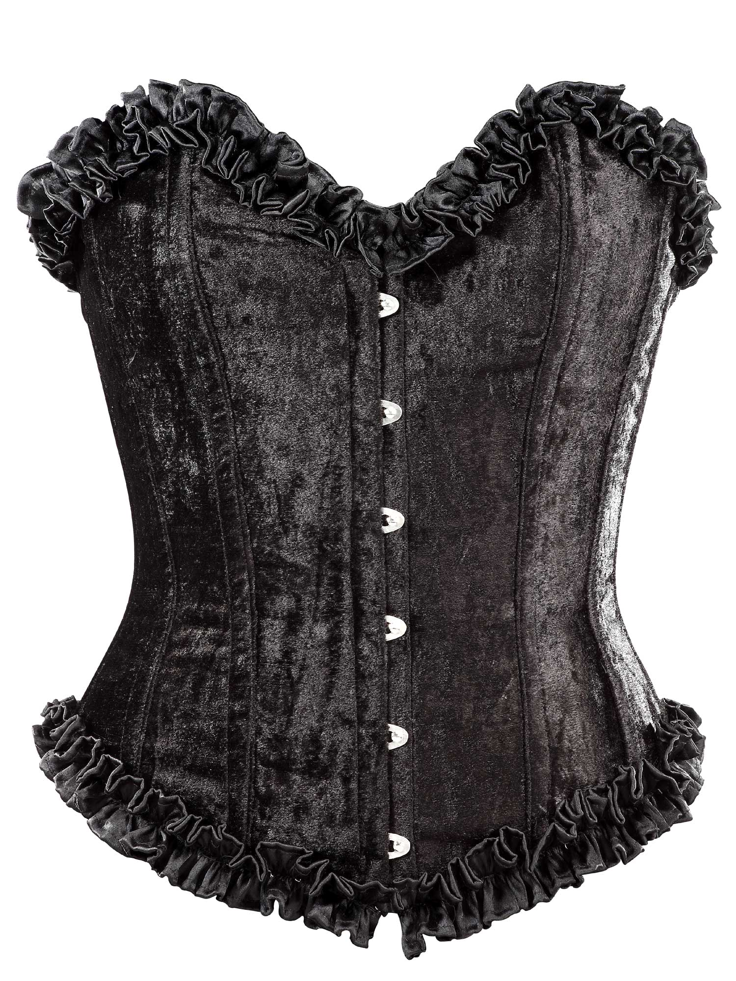 black_velvet_fabric_steel_boning_overbust_corset_waist_cincher_bustier_bustiers_and_corsets_5.jpg