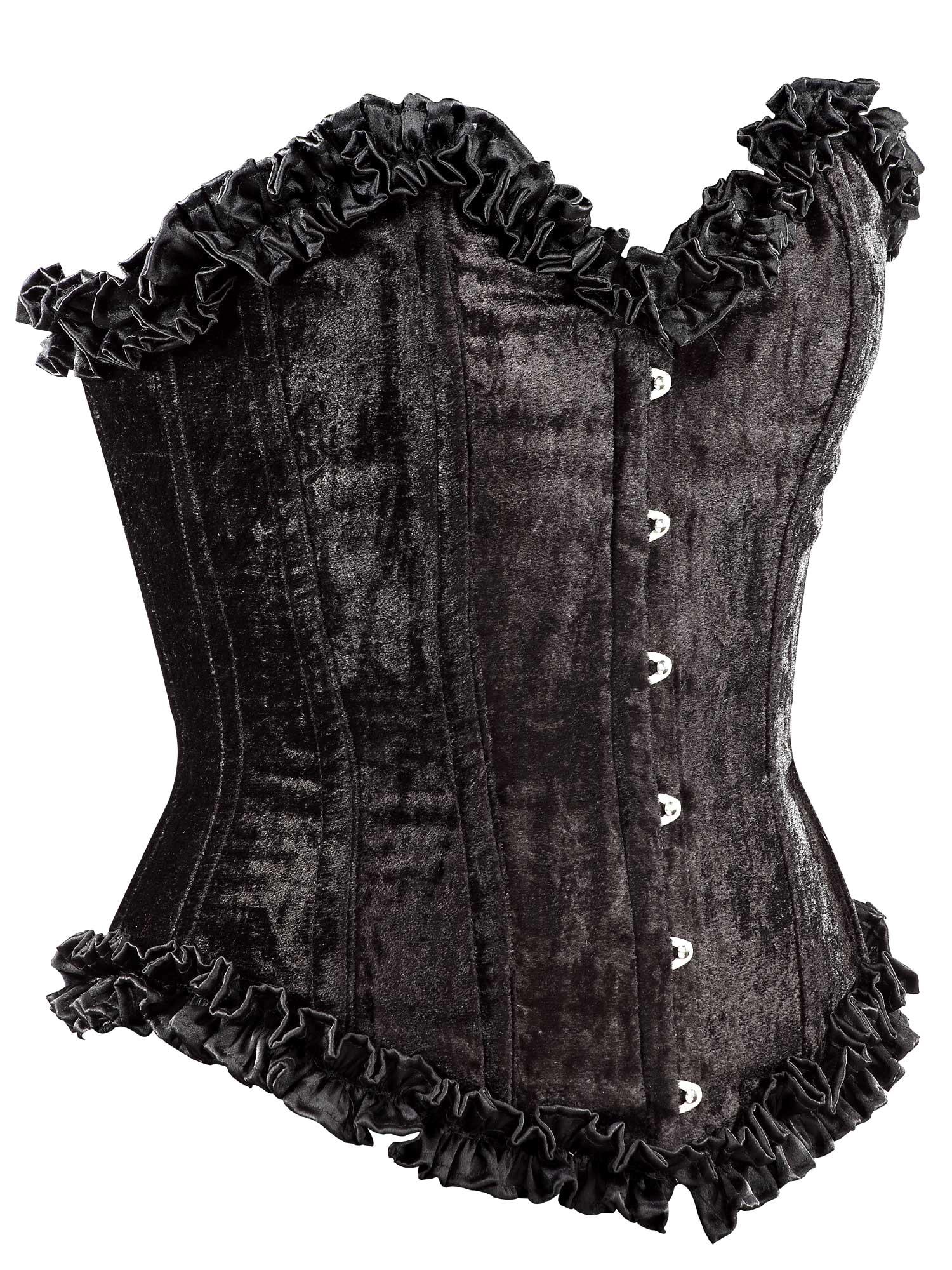 black_velvet_fabric_steel_boning_overbust_corset_waist_cincher_bustier_bustiers_and_corsets_4.jpg
