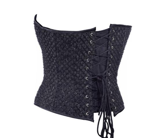 black_cutwork_fabric_steel_boning_overbust_corset_waist_cincher_bustier_bustiers_and_corsets_3.jpg