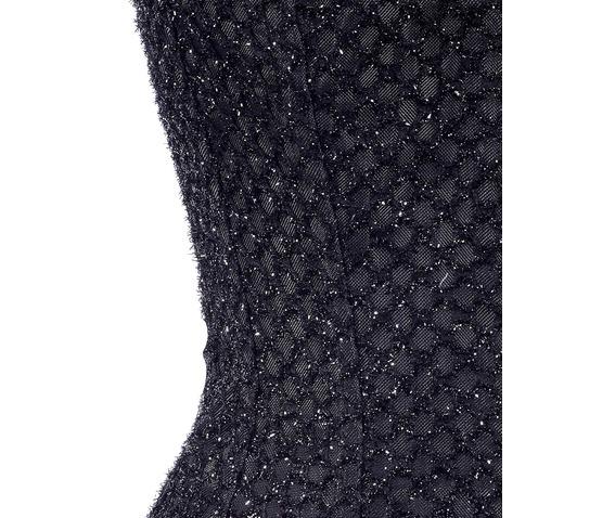 black_cutwork_fabric_steel_boning_overbust_corset_waist_cincher_bustier_bustiers_and_corsets_2.jpg