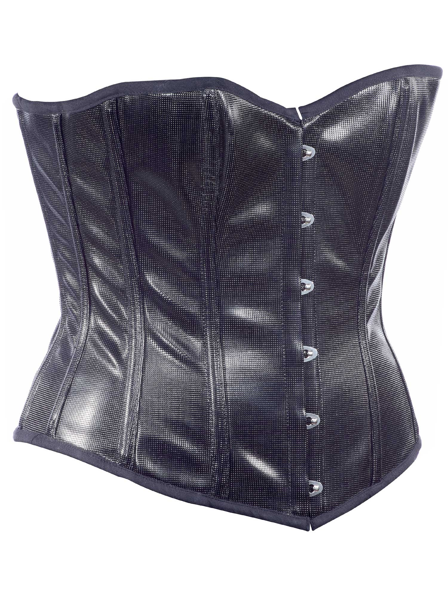 check_design_black_faux_leather_fabric_steel_boning_overbust_corset_waist_cincher_bustier_bustiers_and_corsets_4.jpg