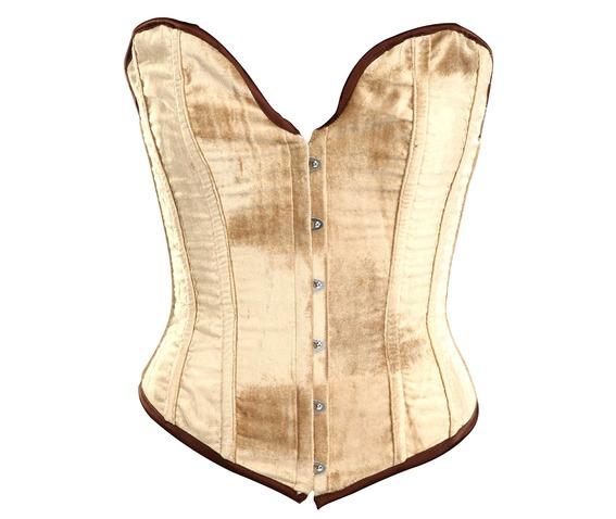 beige_velvet_fabric_steel_boning_overbust_corset_waist_cincher_bustier_bustiers_and_corsets_5.jpg