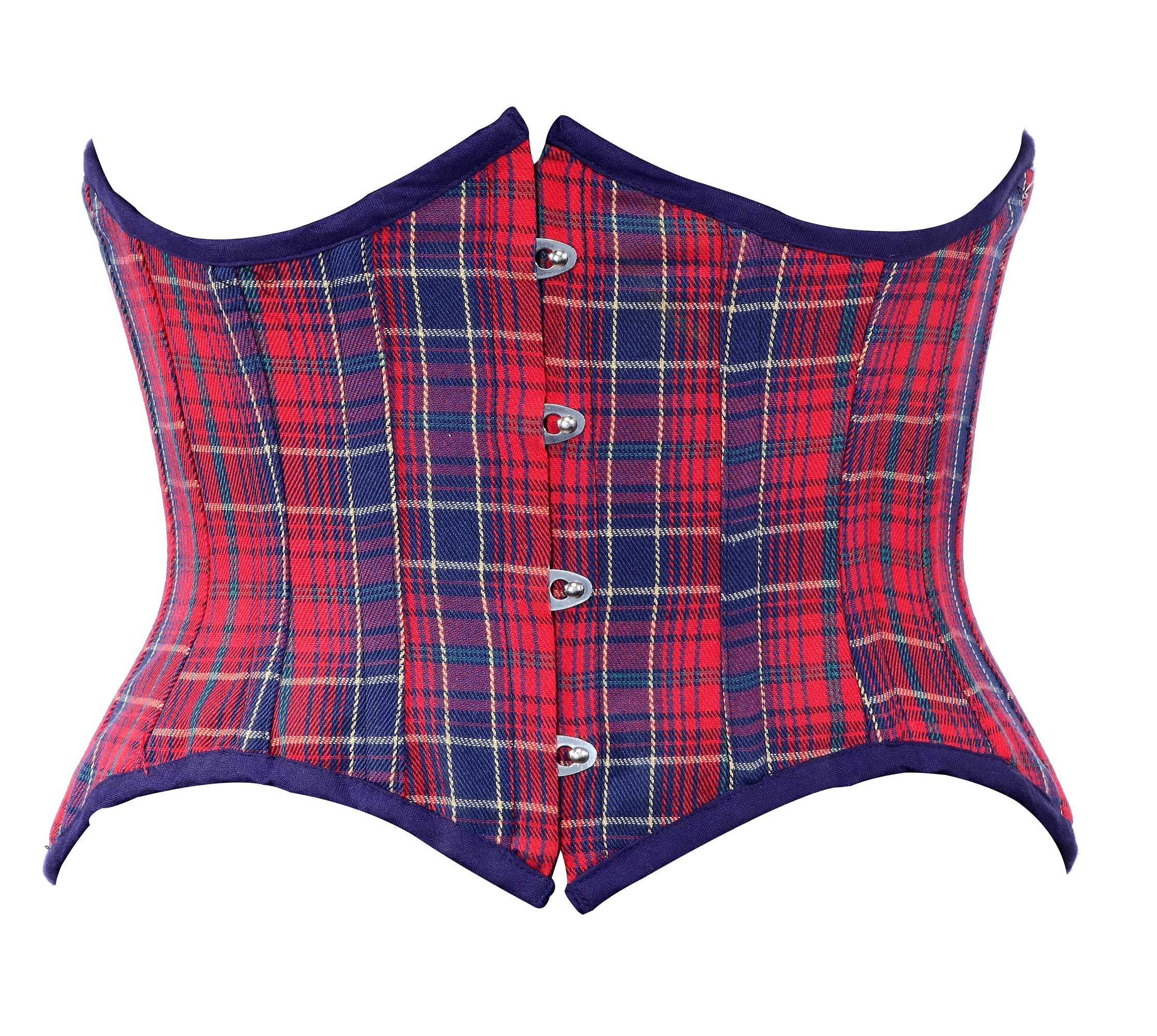 red_and_blue_check_fabric_steel_boning_underbust_corset_waist_cincher_bustier_bustiers_and_corsets_5.jpg