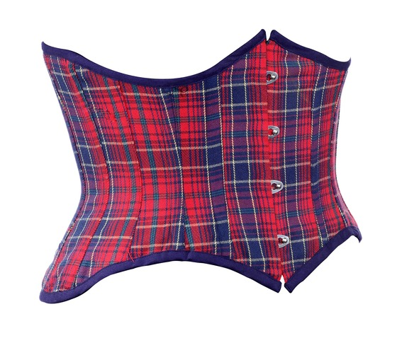 red_and_blue_check_fabric_steel_boning_underbust_corset_waist_cincher_bustier_bustiers_and_corsets_4.jpg