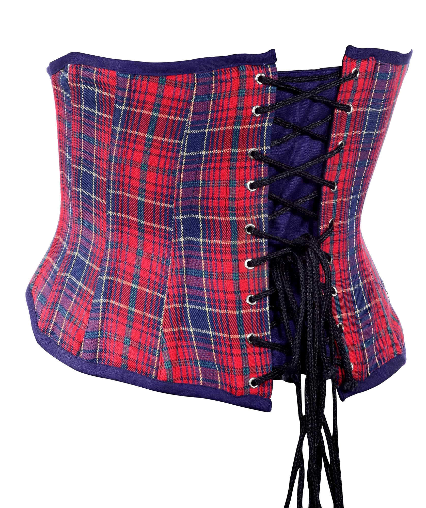 red_and_blue_check_fabric_steel_boning_underbust_corset_waist_cincher_bustier_bustiers_and_corsets_3.jpg