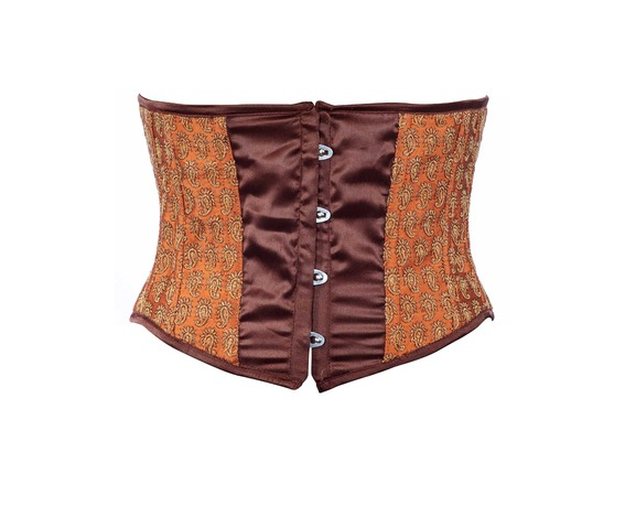 maroon_fabric_steel_boning_underbust_corset_waist_cincher_bustier_bustiers_and_corsets_5.jpg