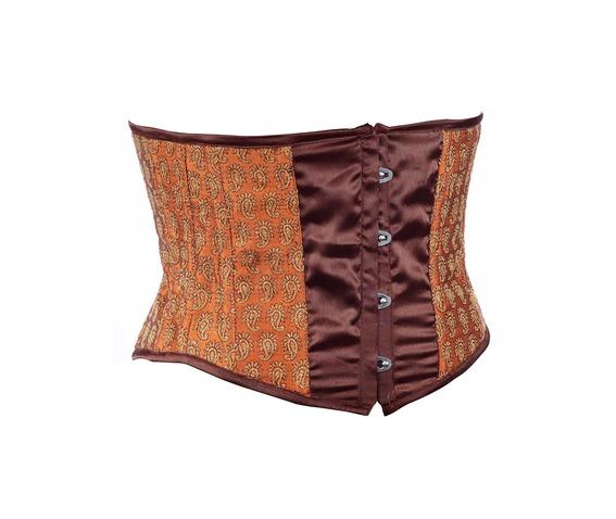 maroon_fabric_steel_boning_underbust_corset_waist_cincher_bustier_bustiers_and_corsets_4.jpg