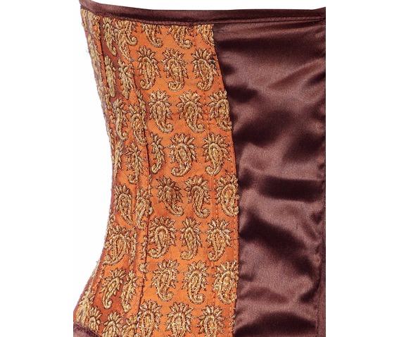 maroon_fabric_steel_boning_underbust_corset_waist_cincher_bustier_bustiers_and_corsets_2.jpg