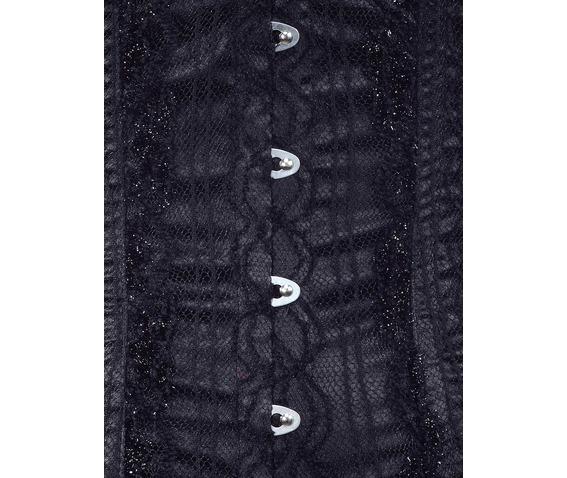 black_net_fabric_steel_boning_underbust_corset_waist_cincher_bustier_bustiers_and_corsets_2.jpg