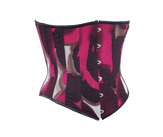multi_color_fabric_steel_boning_underbust_corset_waist_cincher_bustier_bustiers_and_corsets_4.jpg