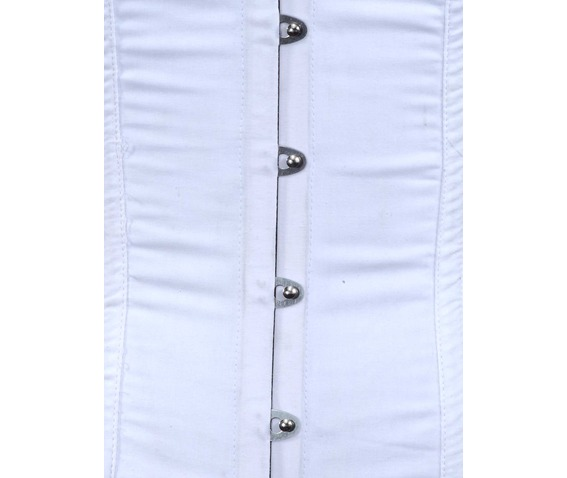 white_fabric_steel_boning_underbust_corset_waist_cincher_bustier_bustiers_and_corsets_2.jpg