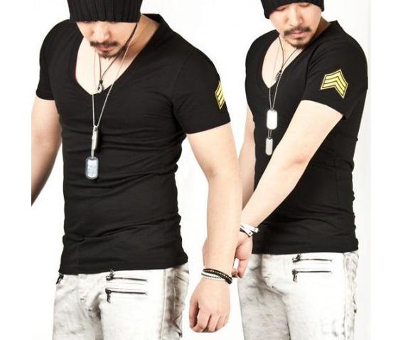 masculine_slim_fit_chevron_patch_v_neck_tee_black__tees_2.jpg