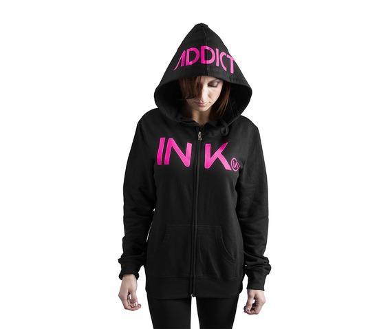 ink_womens_black_pink_zip_hoodie_hoodies_and_sweatshirts_2.jpg