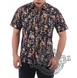 Rockabilly Retro Vintage Hawaii Shirt Psychobilly Rock N Roll Rb 04