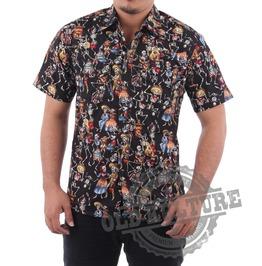 Rockabilly Retro Vintage Hawaii Shirt Psychobilly Rock N Roll Rb 04