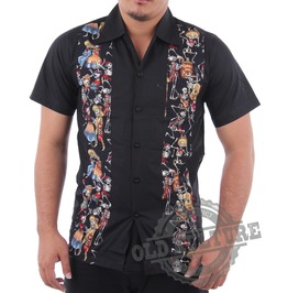 Rockabilly Retro Vintage Hawaii Shirt Psychobilly Rock N Roll Rb 08
