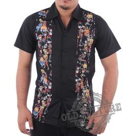 Rockabilly Retro Vintage Hawaii Shirt Psychobilly Rock N Roll Rb 08