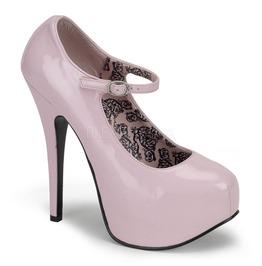 Burlesque Pumps Bordello Teeze 07 Pink Pleaser
