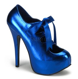 Burlesque Heels Bordello Teeze 09 Blue Pleaser