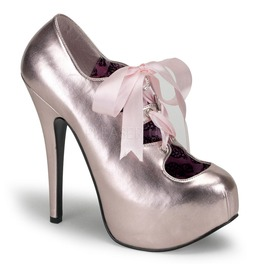 Burlesque Heels Bordello Teeze 09 Pink Pleaser