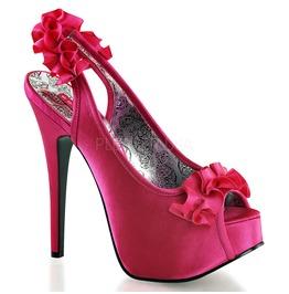 Burlesque Pumps Bordello Teeze 56 Pink Pleaser