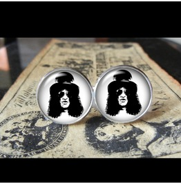 Guns 'n Roses Slash Cuff Links Men, Weddings,Grooms, Groomsmen,Gifts,Dads,Graduations