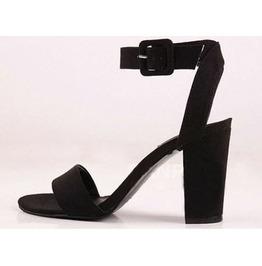 Black Heels Thick Heel | Fs Heel