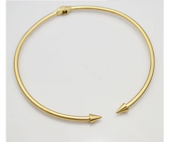 solid_pointed_arrow_choker_necklace_necklaces_3.JPG