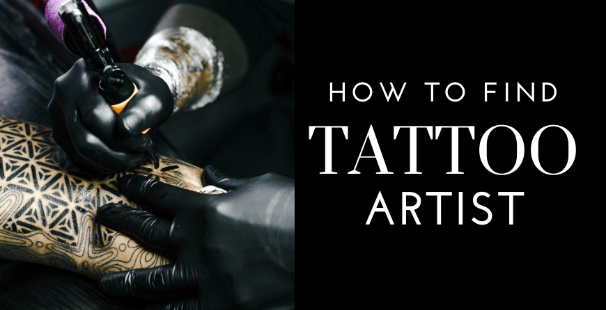 How to Find A Tattoo Artist