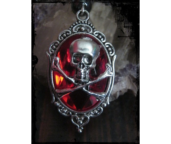 floral_necklace_red_faceted_cabochon_skull_hematite_beads__necklaces_3.JPG