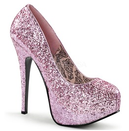 Burlesque Pumps Bordello Teeze 06 G Pink Pleaser