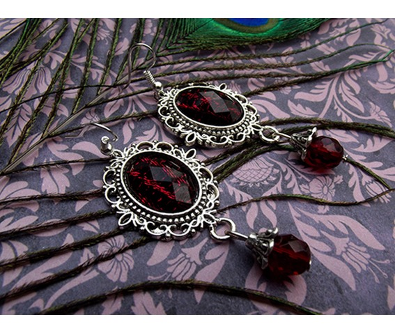 gothic_victorian_silver_filigree_red_drop_bead_earrings_earrings_2.jpg