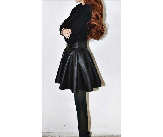 riveted_studded_flared_high_waist_black_faux_leather_punk_gothic_miniskirt_skirts_3.JPG
